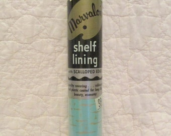 Vintage Shelf Lining Marvalon New In Package Atomic Style