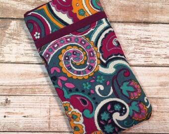 Paisley iPhone 7 Case, iPhone 6 Case, iPhone 6 Plus, iPhone Wallet, Samsung Galaxy S6, Galaxy S7 Case, Google Pixel, Hacienda Paisley Fabric
