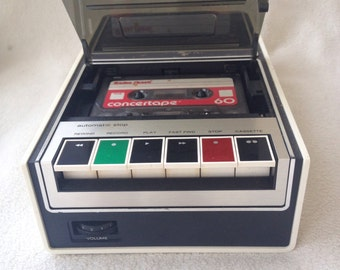 Vintage RCA YZB527Y Casette Tape Recorder Retro Electronics