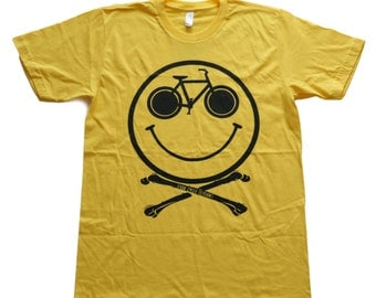 Ride and Be Happy - Bicycle Shirt