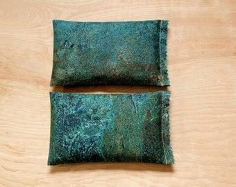Teal Blue Lavender Sachets, Boho Bedroom Decor, Scented Sachets, Gifts for Women, Stocking Stuffer