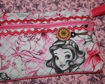 Princess Pink Zipper Pouch
