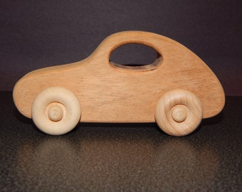 small wooden toy car, wooden car,wood car