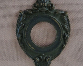 Antique Wrought Iron Door Bell Hardware, Vintage Hardware, Collectable Hardware - REDuCED