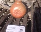 Salt fired Stoneware vase