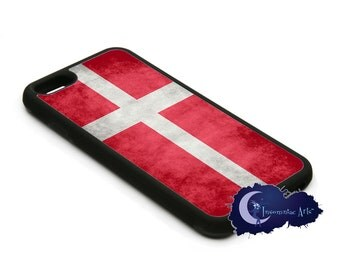 Danish Flag, Denmark - iPhone Cover, Case