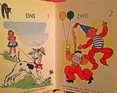 1950s VinTagE GeRmaN Children's Book