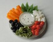 Veggie Platter Charm