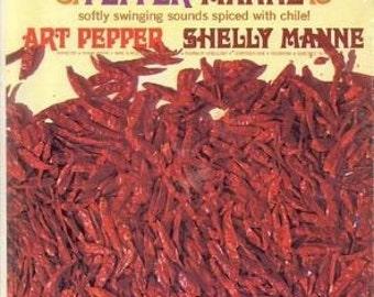 Pepper Manne LP Vinyl Record, Art Pepper and Shelley Manne 1963 Vintage