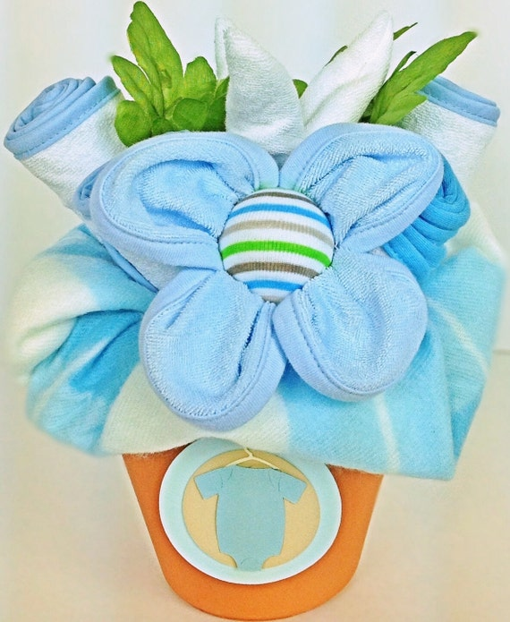 baby bouquet, layette boy gift bouquet. flower baby boy gift. boys, Baby shower invitation