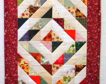 Barn Raising Doll Quilt