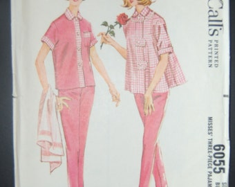 McCalls 6055 Vintage Ladies Sewing Pattern Sale