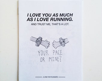 I Love You as Much as I Love Running Zine