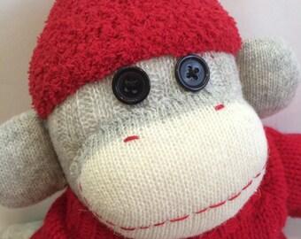 Hartley the Sock Monkey
