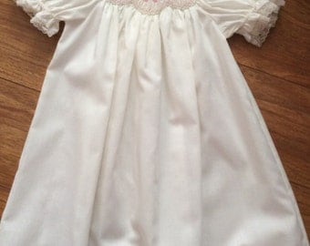 Hand Smocked, Infant-Toddler, Baby Daygown