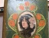 Vintage Book The Adventures of a Brownie As Told to my Child - Miss Mulock Hardcover Book Green Book