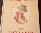 Beatrix Potter Histoire de Jeannot Lapin -  French Edition - 1950s edition - mint condition - stories of rabbits classic childrens book