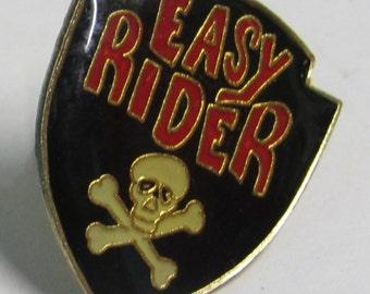 Retro Easy Rider Enamel Pin 1988