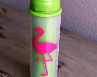 Pink Flamingo Water Bottle  ONLY ONE LEFT