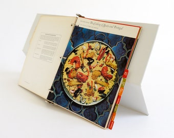 REDUCED Vintage 1972 Time Life Recipes from Foods of the World 3 Ring Binder Cook Book VGC / Recipes from France, Italy, Spain, Germany