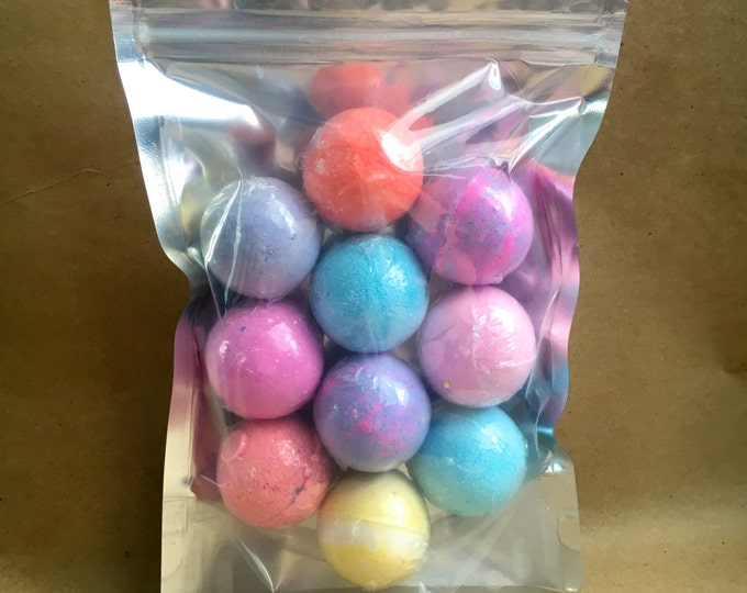 MANI-PEDI Bath Bomb 10 Pack, 10 oz