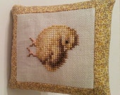 Chick Cross Stitch Cupboard Tuck Bowl Filler Baby Chick