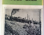 RARE Book Rails Around Gold Hill 1st Ed Signed Limited Printing Morris Cafky 1955 Trains Dustcover