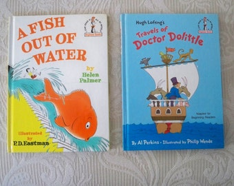 Vintage Books Children's Palmer & Perkins Set of Two I Can Read Beginner Reader