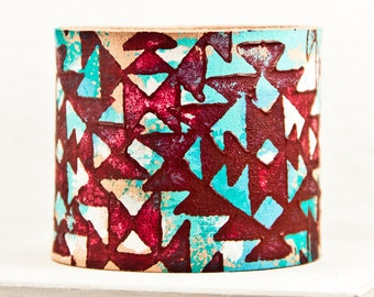 Turquoise Boho Bracelets Bohemian Accessories Wrist Cuffs