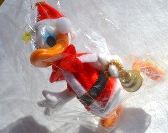 Vintage Disney Donald Duck Christmas Ornament - Santas World Kurt Adler - NOS