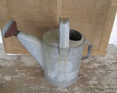 Vintage Galvanized Metal Watering Can Dover 10 Sprinkler Head,Country cottage garden, Farmhouse,Farm House, Garden decor,Home Living