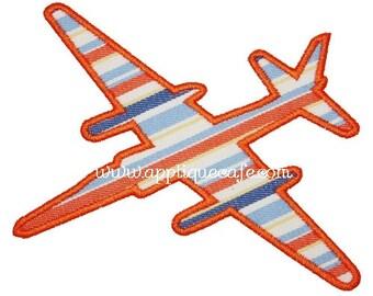252 Jet Machine Embroidery Applique Design