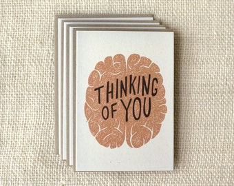 SALE - 50% OFF - Note Card Set - Thinking of You