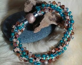 Kumihimo Bracelet Multi color