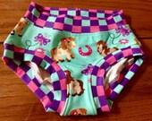 girls size 4 pretty pony panties