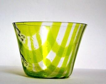 Sale - Spring Green Glass Vase