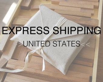 EXPRESS SHIPPING - service to USA