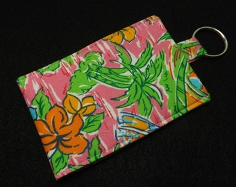 CELL PHONE SLEEVE Pink and Green KSEW117