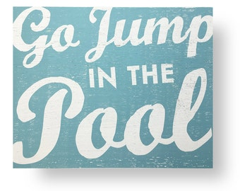 Extra Large Go Jump in the Pool 29 x 33