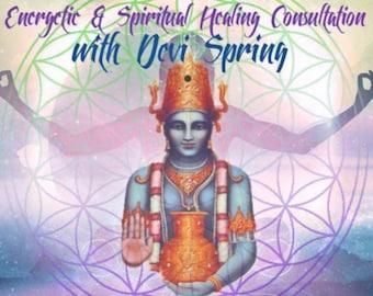 Energetic & Spiritual Wellness Consultation (via email)