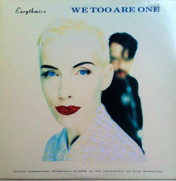 Glittered Eurythmics We Too Are Album Art