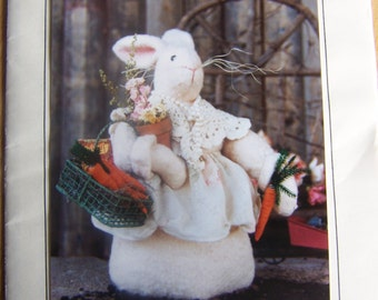 Bonnie B Buttons Bunnie Mae Craft Sewing Bunny Pattern #250