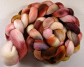 Maple Buds 1 Falkland wool top for spinning and felting (4.1.ounces)
