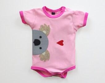 Baby Koala Bodysuit : Baby Girl, Baby Girl Shower