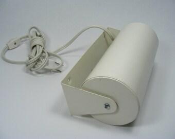 Wall Mount Swivel Lamp Vintage Ikea All Metal Creamy White Powder Coat Finish