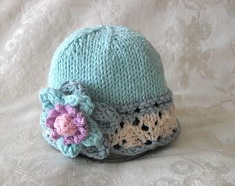 Baby Hat Knitting Knit Baby Hat Knitted Baby Hats Children Clothing Cotton Knitted Baby Hat Newborn Baby Hat Baby Hat with Flower