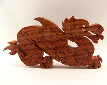 Laughing Dragon Wood Puzzle