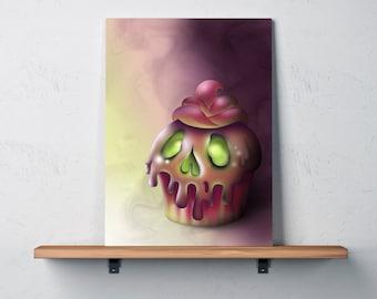 Death by Chocolate Art Print