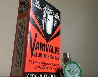 SALE: Presidents Day Hol Vintage Varivalve Steam Valve. Heat-Timer Corporation. Fairfield, NJ.