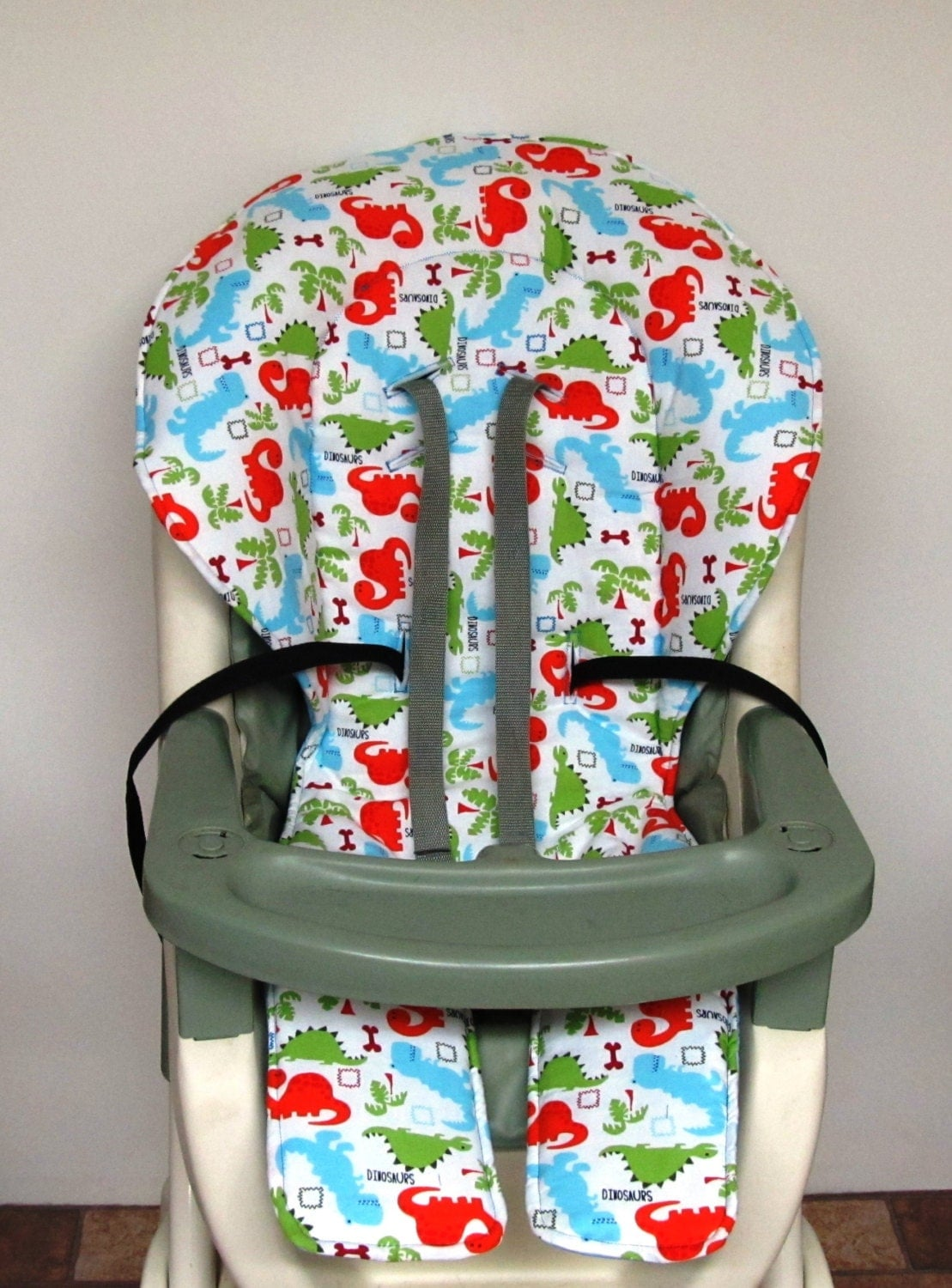 graco high chair cover chair cushion kids and baby by sewingsilly. Black Bedroom Furniture Sets. Home Design Ideas
